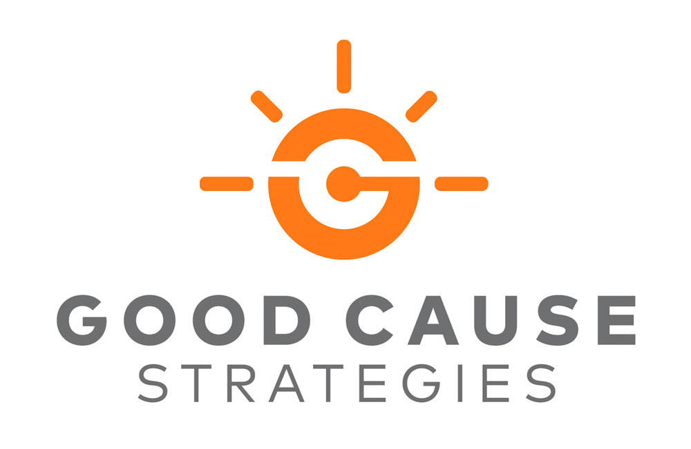 Logo for Good Cause Strategies marketing consultant for non-profits