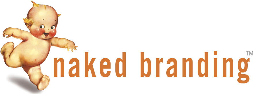 Logo for Naked Branding, strategy and marketing