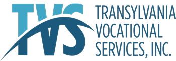 Logo for TVS, Inc. in Brevard, NC