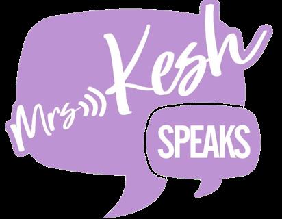 Logo for Mrs Kesh Speaks Speaker, Recruitment, Diversity